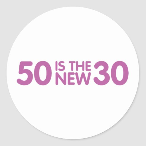 50th birthday sticker