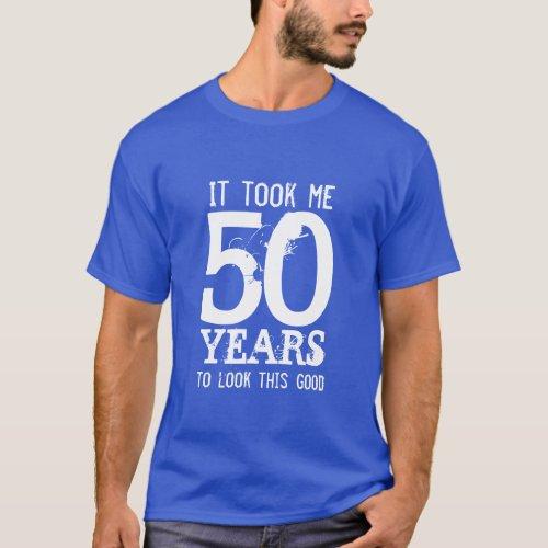 50th Birthday t shirt  Customizable