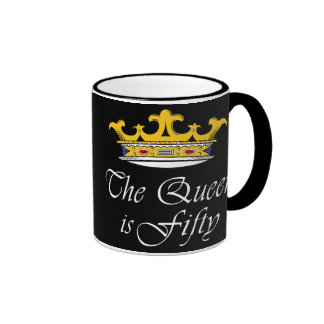 50th birthday The Queen is 50! Coffee Mugs