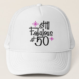 50th Birthday Trucker Hat