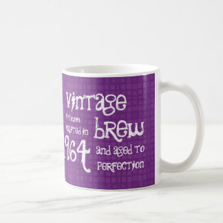 50th Birthday Vintage Brew or Any Year V01F Coffee Mug