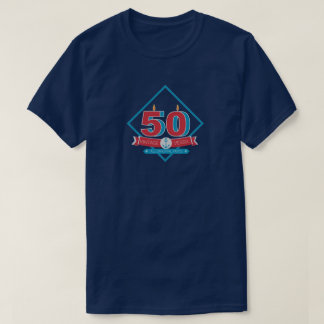 50th Birthday Vintage Vessel Men's Birthday Tee