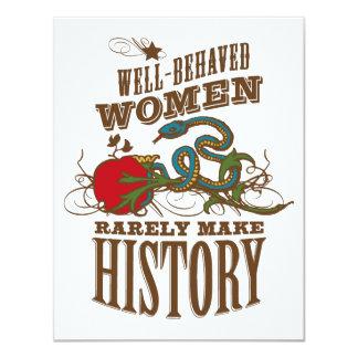 50th Birthday - Wild Woman Make History Card