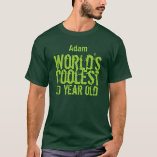 50th Birthday World's Coolest 50 Year Old H50A T-Shirt