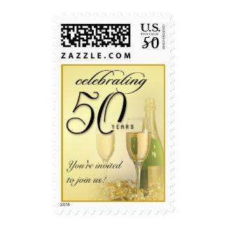 50th Celebration Anniversary - Birthday Postage