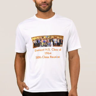 50th Class Reunion sport shirt for Dumont H.S.