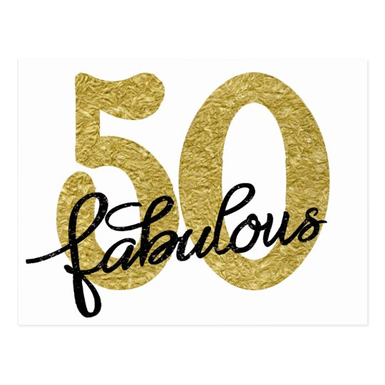 50 Abd Fabulou: Chic 50 Fabulous Thank You