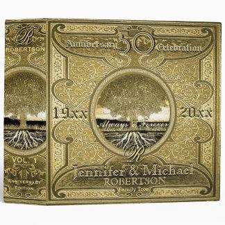 50th Golden Anniversary 3 Ring Binder