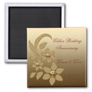 50th Golden Anniversary Magnet
