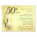 50th Golden Anniversary Party Invitations