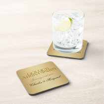 50th Golden Anniversary Personalized Coasters