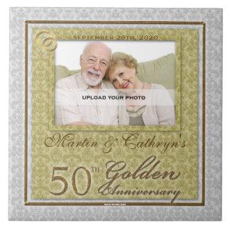50th Golden Anniversary Photo Tile