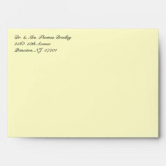 50th Golden Celebration Invitation Envelopes