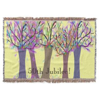 50th Golden Jubilee Woven Blanket