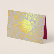 50th Golden Wedding Anniversary Greeting Cards