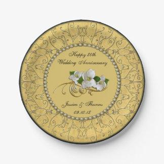 Wedding Paper Plates Zazzle