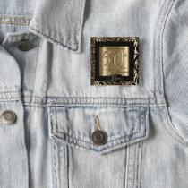 50th Golden Wedding Anniversary Pinback Button