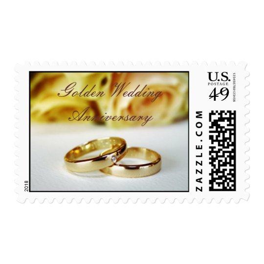 50TH Golden Wedding Anniversary Postage