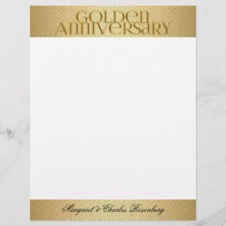 50th Golden Wedding Annivsersary Names