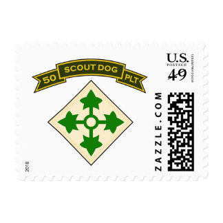 50th IPSD - 4th Infantry Stamps
