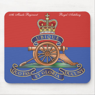 50th Missile Regiment RA Mouse Pad