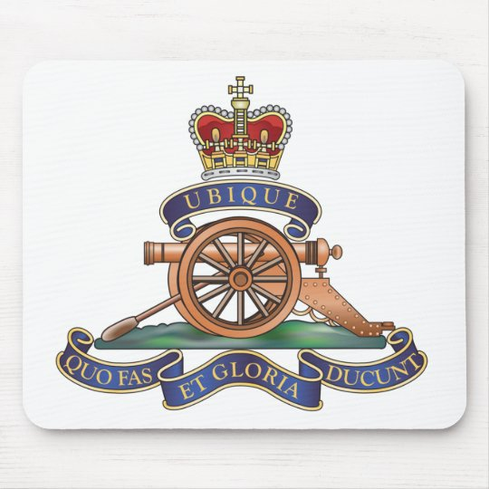 50th Missile Regiment Royal Artillery Mouse Pad