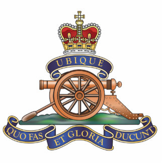 50th Missile Regiment Royal Artillery Pin Photo Sculpture Button