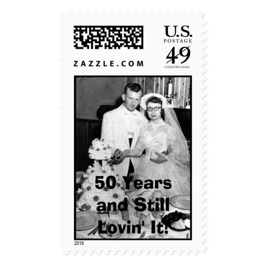 50th postage