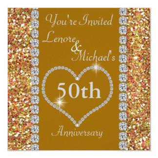 50th SPARKLE Anniversary Party Invitation