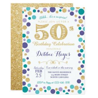 50th surprise birthday party invitation - Surprise 50th Birthday Party Invitations