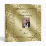"50th Wedding Anniversary 1"" Photo Binder"