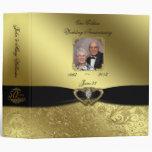 "50th Wedding Anniversary 2"" Photo Binder"