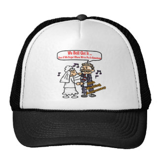 50th wedding anniversary 6t trucker hat