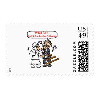 50th wedding anniversary 6t postage