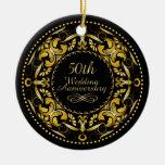 50th Wedding Anniversary 9B - Ornament
