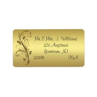 50th Wedding Anniversary Address Label
