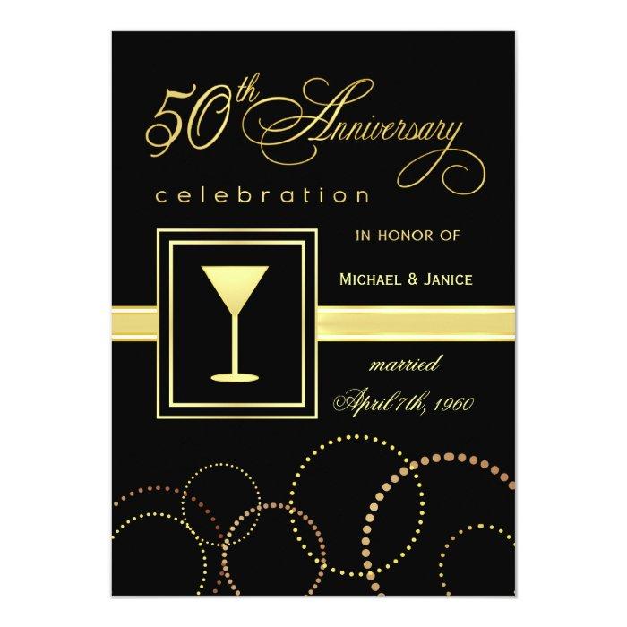Th wedding anniversary celebration modern card zazzle