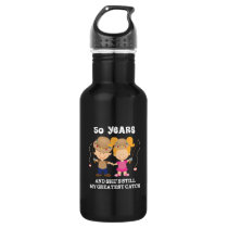 50th Wedding Anniversary Funny For Him Stainless Steel Water Bottle