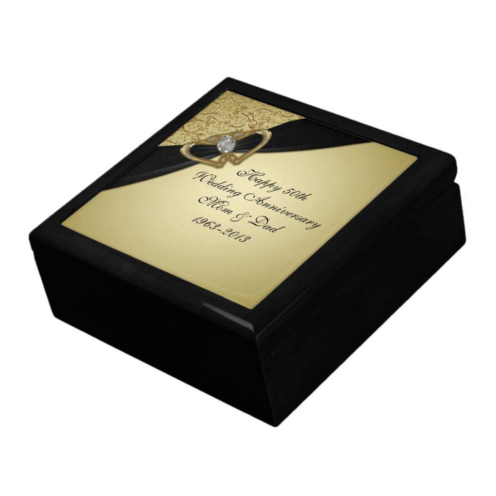 Wedding Anniversary Gift Box : ... gift box USD 33 95 this customizable 50th wedding anniversary gift box