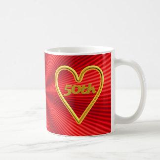 50th Wedding Anniversary Gifts Coffee Mugs
