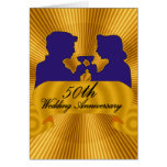 50th Wedding Anniversary Gifts Greeting Card
