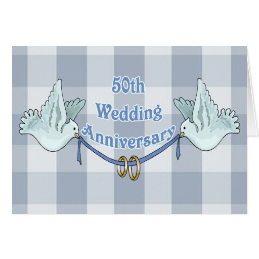 Wedding Gift Greeting Suggestions : 50th Wedding Anniversary Gifts Greeting Cards Zazzle