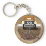 50th Wedding Anniversary Gifts Keychain