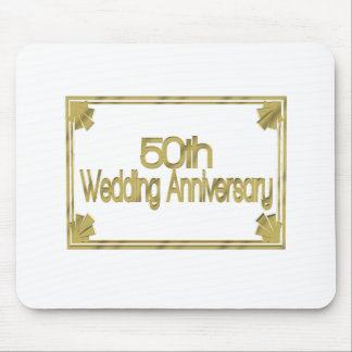 50th Wedding Anniversary Gifts Mouse Pads