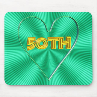 50th Wedding Anniversary Gifts Mousepad