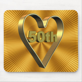 50th Wedding Anniversary Gifts Mousepads