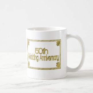 50th Wedding Anniversary Gifts Mugs