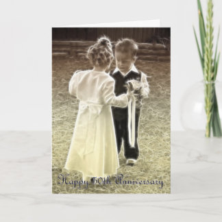 50th Wedding Anniversary Happy Anniversary Card