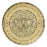 50th Wedding Anniversary Heart Plate
