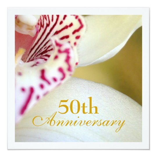 50th Wedding Anniversary Gift Etiquette: 50th Wedding Anniversary Invitation